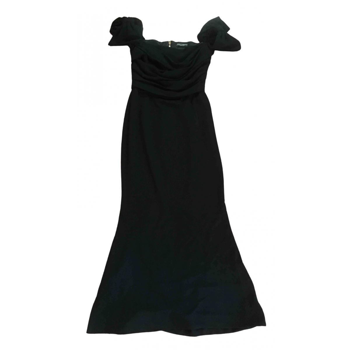 Dolce & Gabbana \N Black Silk dress for Women 44 IT