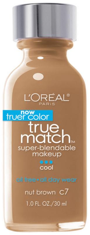 True Match Super-Blendable Foundation Makeup - Nut Brown