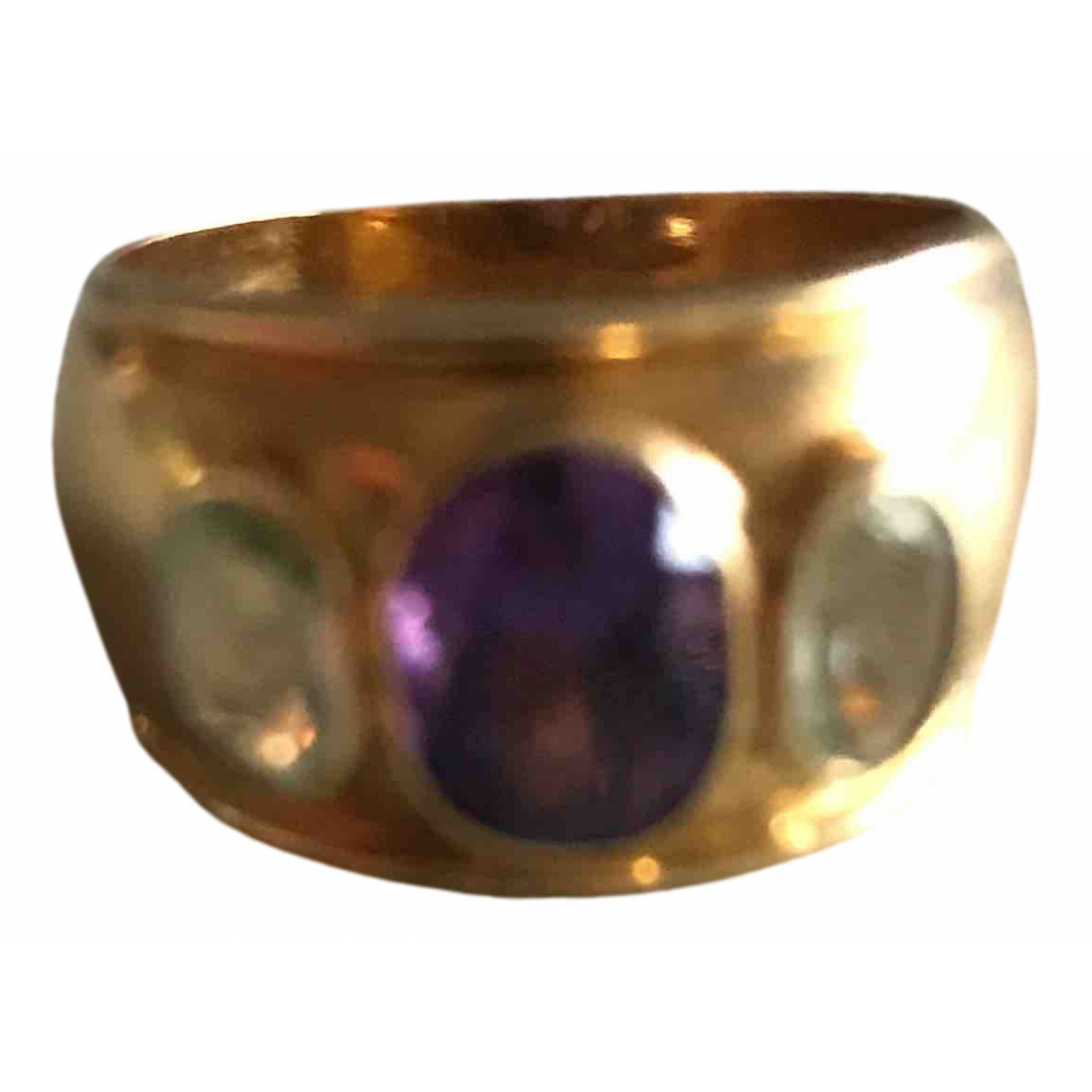 Non Signé / Unsigned N Yellow Yellow gold ring for Women 63 MM