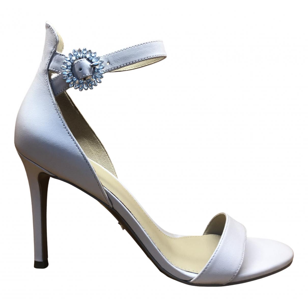 Michael Kors \N Ecru Leather Heels for Women 38 EU