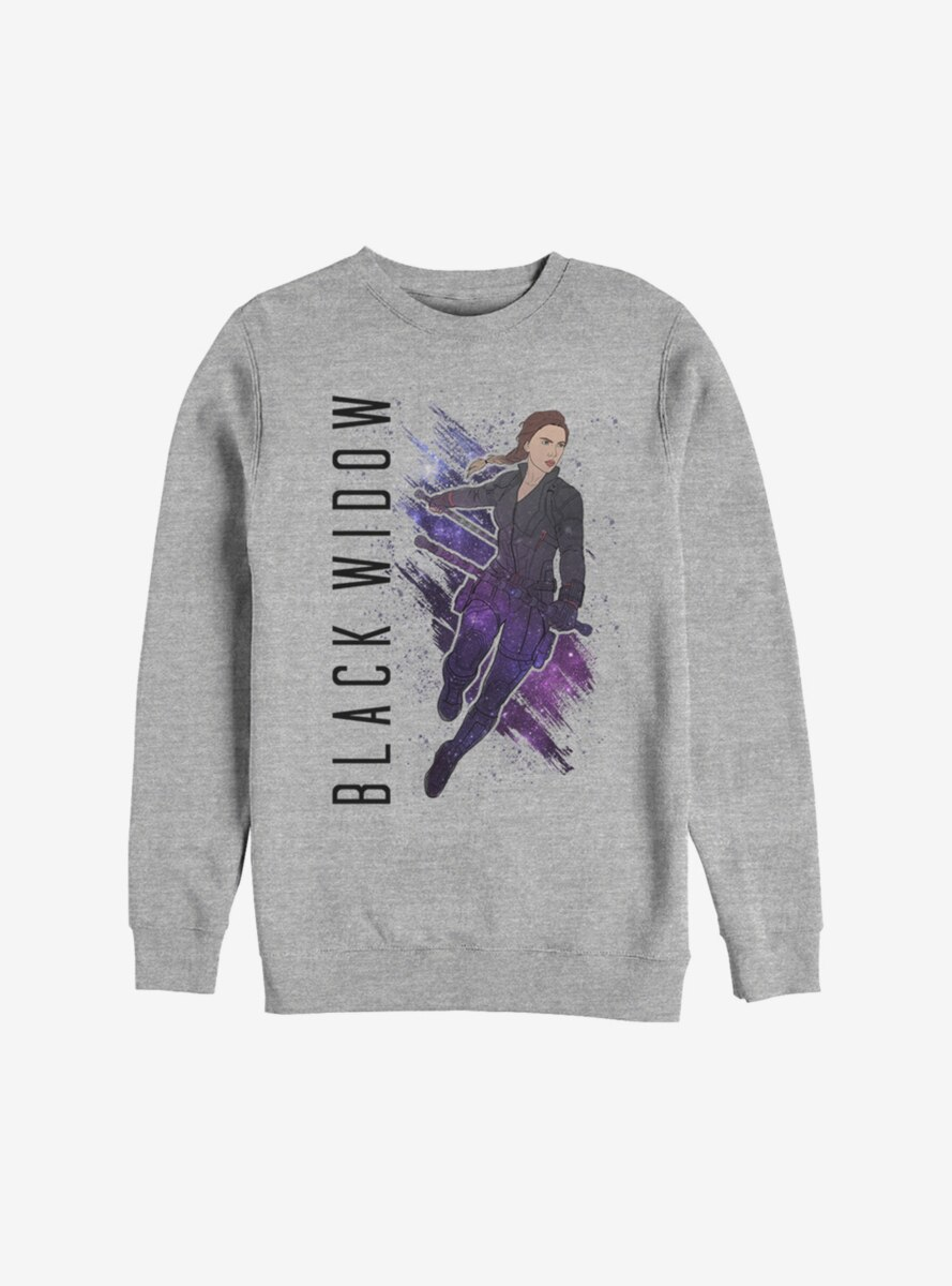Marvel Avengers: Endgame Black Widow Painted Sweatshirt