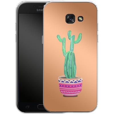 Samsung Galaxy A5 (2017) Silikon Handyhuelle - Cacti Love von Mukta Lata Barua