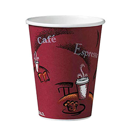 Solo® Bistro® 12 oz Hot Drink Paper Cups, 50/Pack