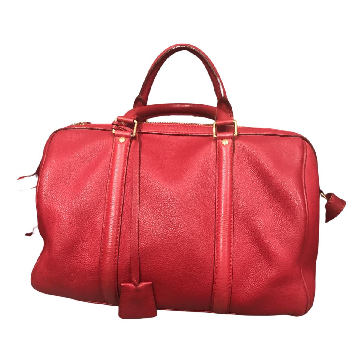 Louis Vuitton - Sac a main Sofia Coppola pour femme en cuir - rouge