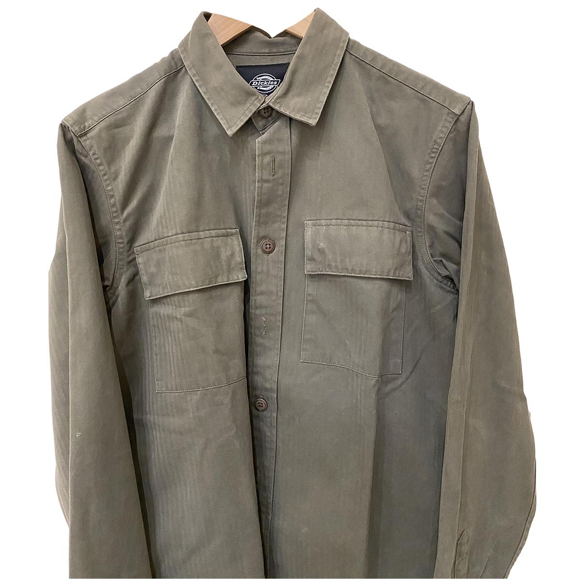 Dickies - Chemises   pour homme en coton - vert