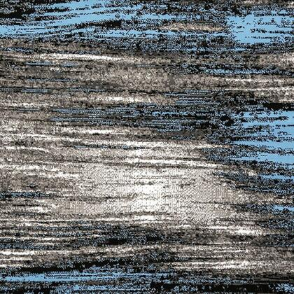 Sivas Collection RG5185M 8' X 10' Area Rug with Machine-made  0.3 Inch Thickness  Made of Polyester and Jute Mesh Backing in