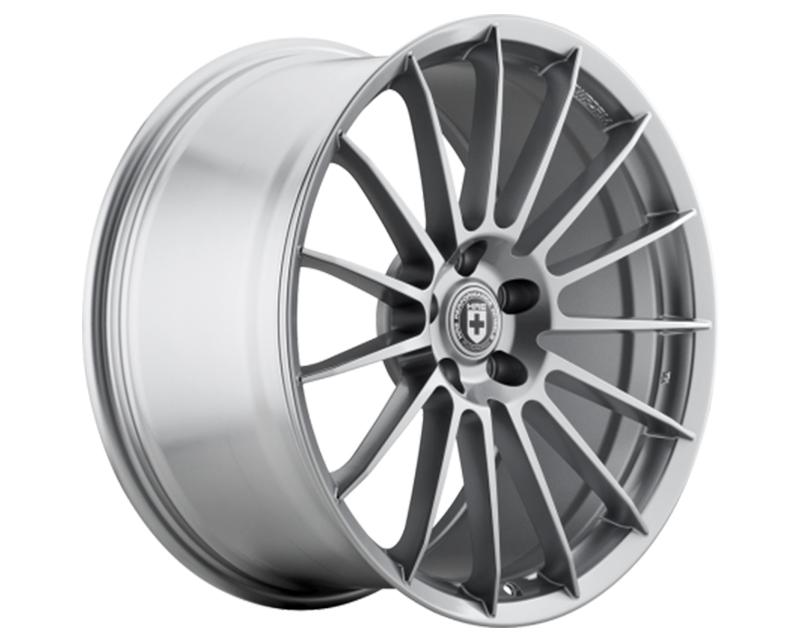 HRE FF15 Liquid Silver FlowForm Wheel 19x9 5x120 35mm