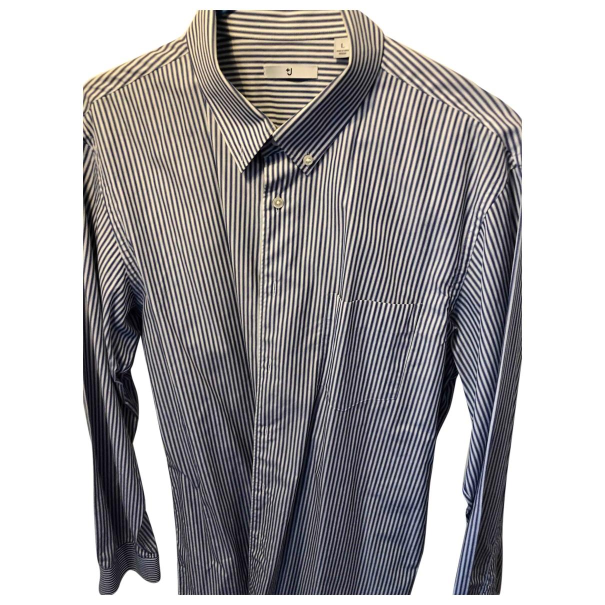 Uniqlo \N Hemden in  Blau Baumwolle
