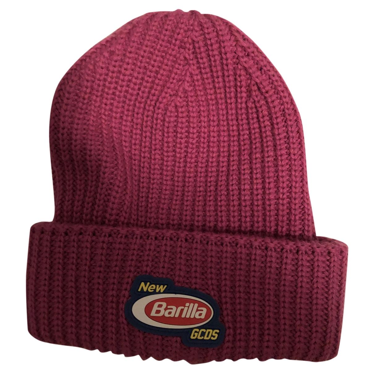 Gcds - Chapeau & Bonnets   pour homme en laine - rose