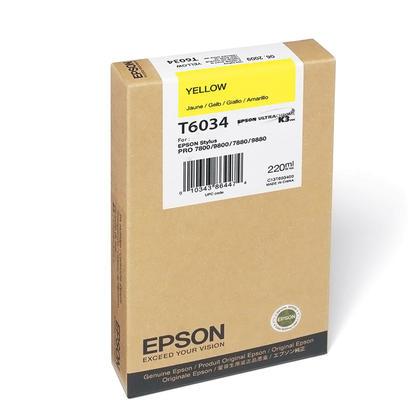 Epson T603400 cartouche d'encre originale jaune