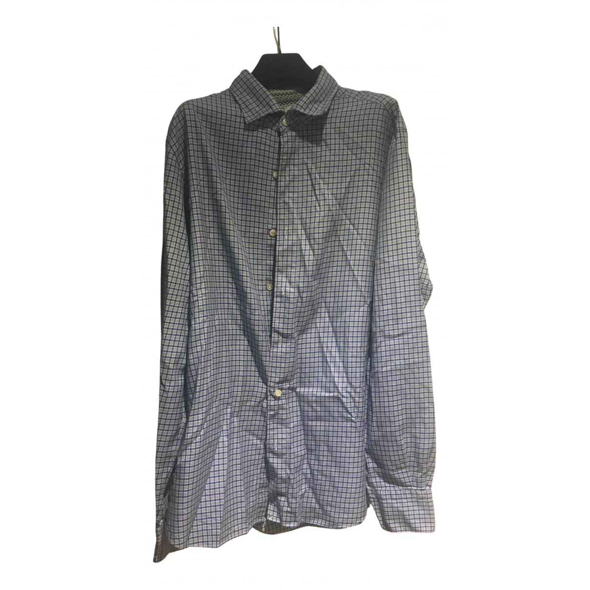 Missoni - Chemises   pour homme en coton - bleu