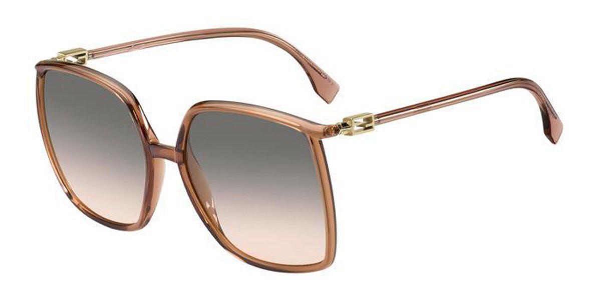 Fendi FF 0431/G/S 35J/FF Women's Sunglasses Pink Size 60