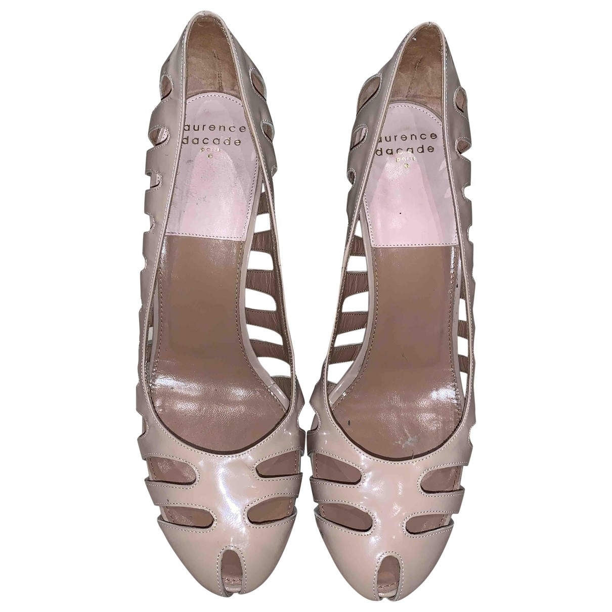 Laurence Dacade \N Pink Patent leather Heels for Women 39 EU