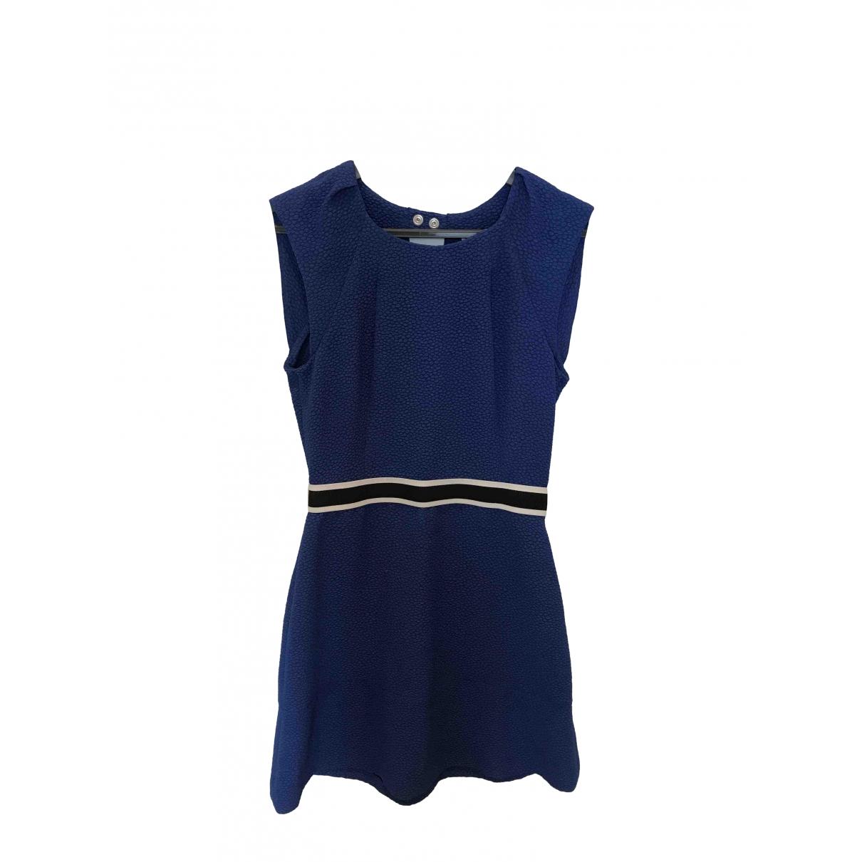 Sandro \N Blue dress for Women 1 0-5