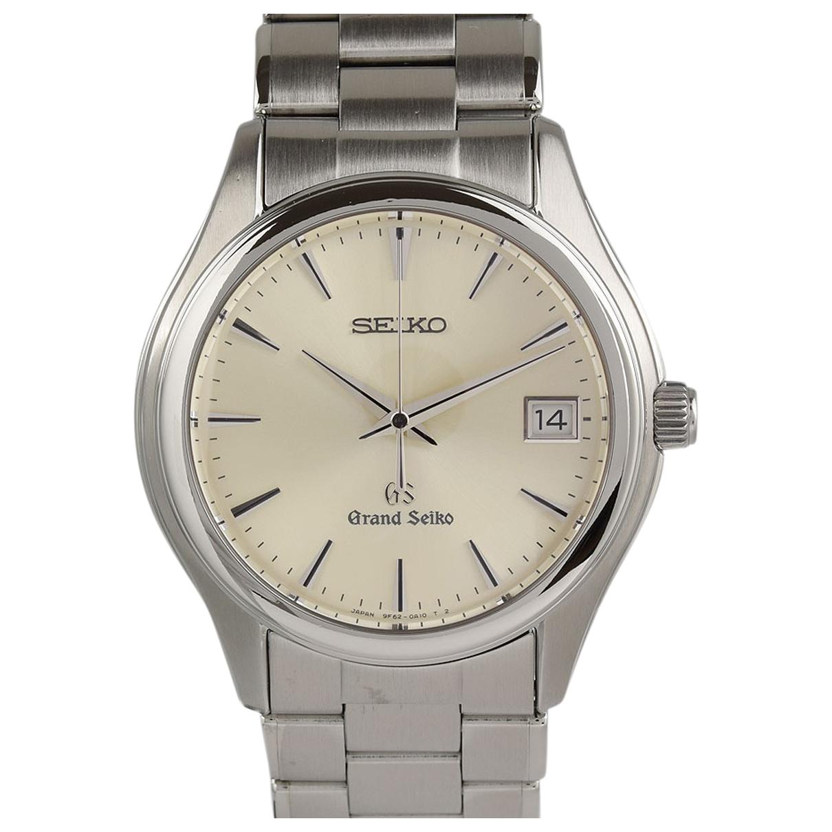 Grand Seiko \N White Steel watch for Men \N