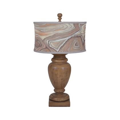 3516044 Turned Urn Table Lamp In Artisan Dark