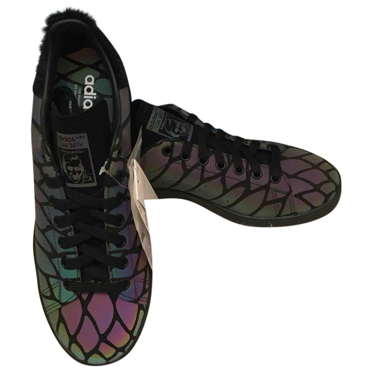 Adidas - Baskets Stan Smith pour femme en cuir - multicolore