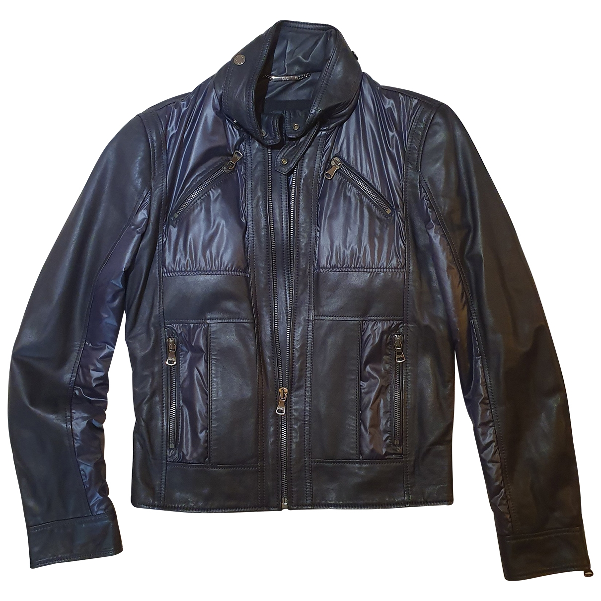 D&g \N Black Leather jacket  for Men M International
