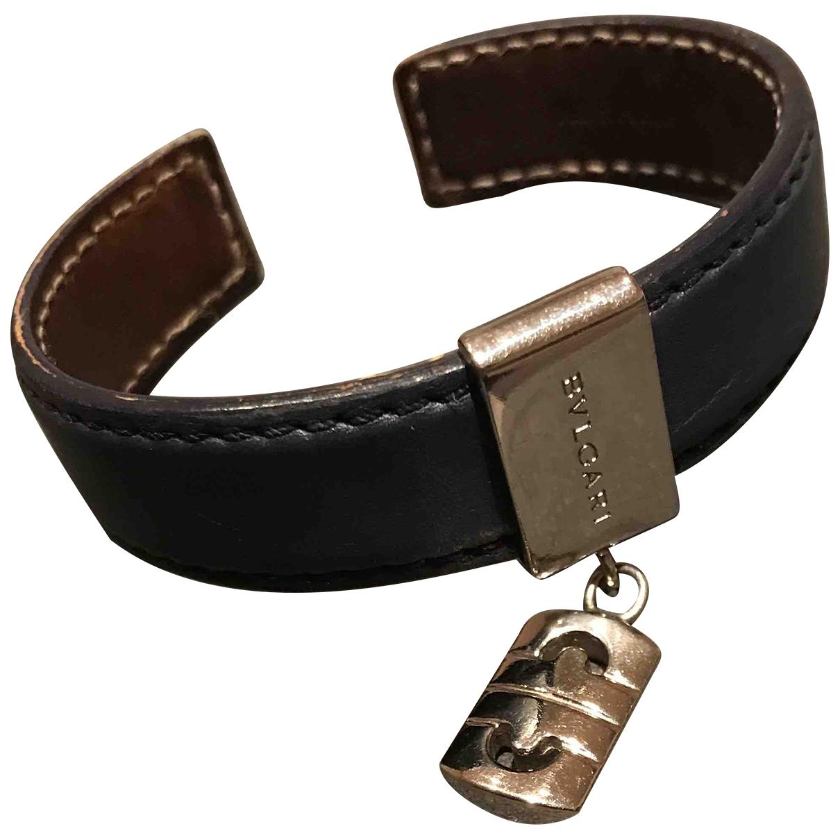 Bvlgari - Bracelet   pour femme en cuir - bleu