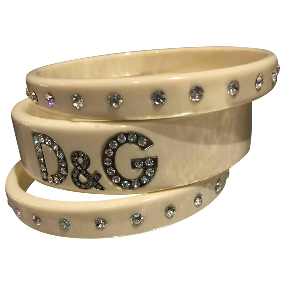D&g - Bracelet   pour femme - beige
