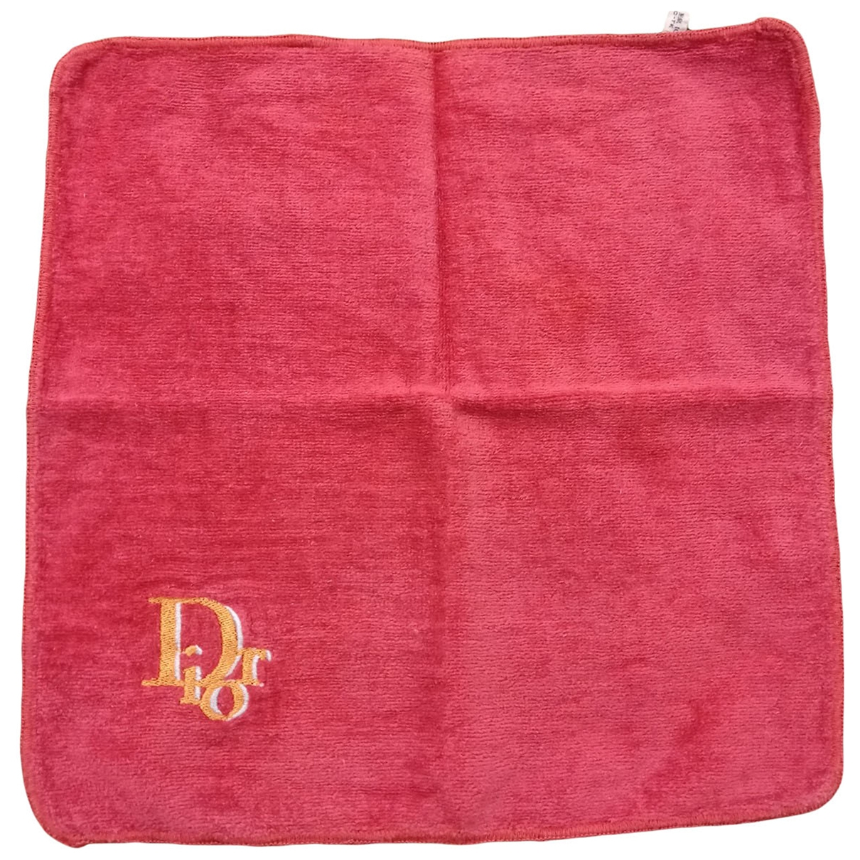 Dior \N Red Cotton Textiles for Life & Living \N