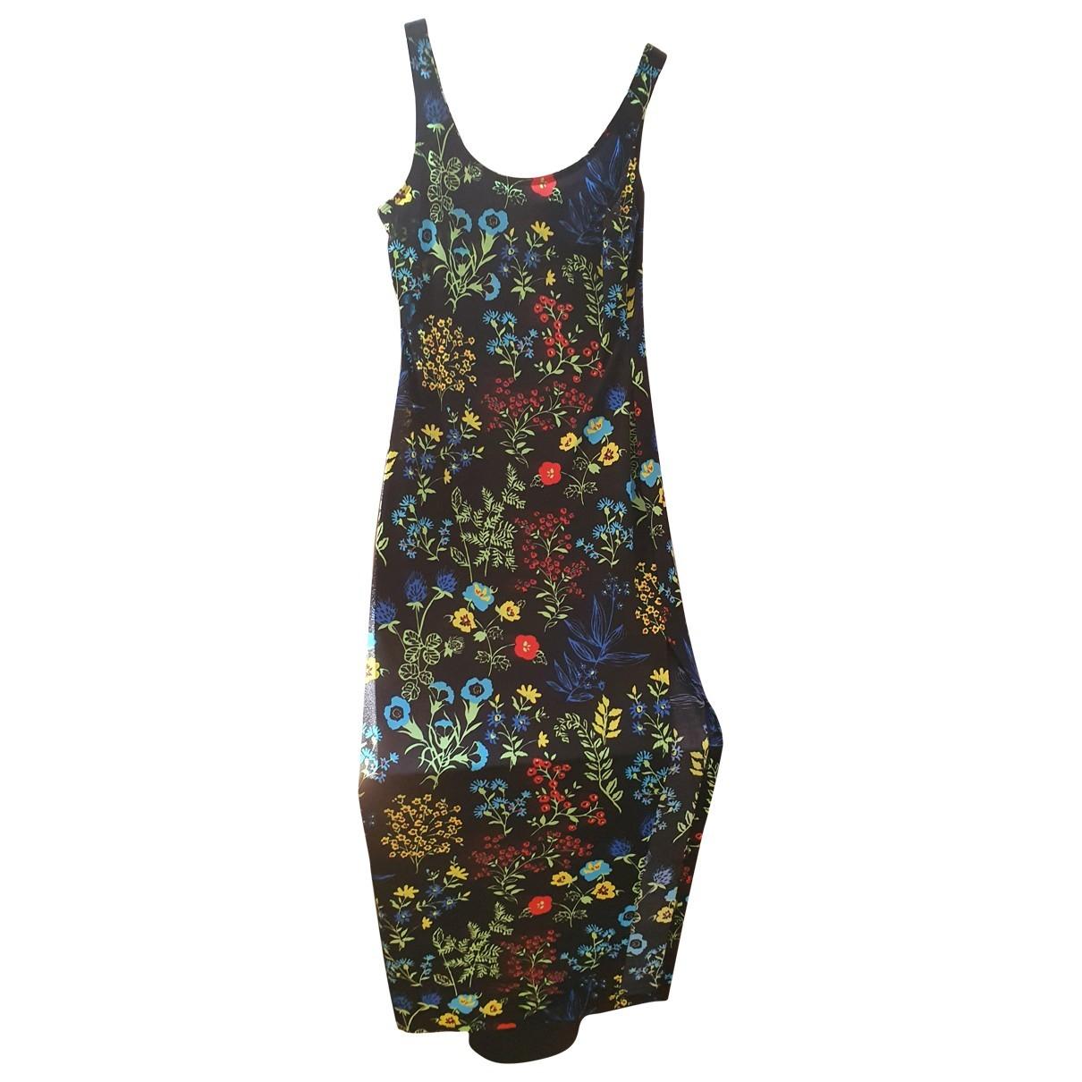 Versace Jeans \N Kleid in  Schwarz Polyester