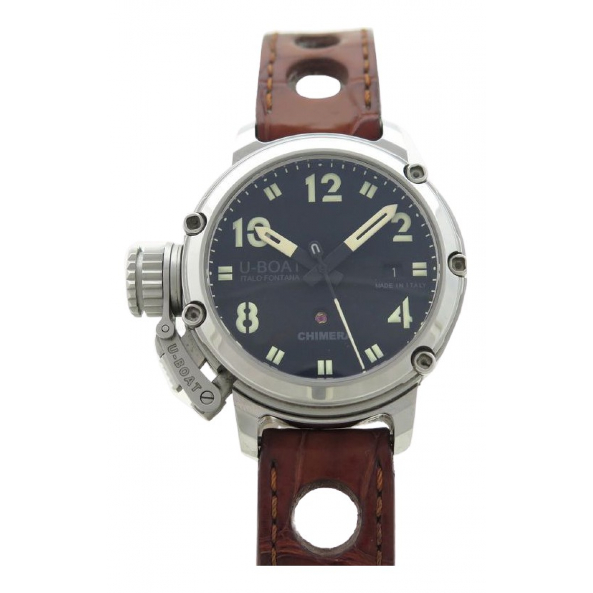 U-boat \N Uhr in  Silber Stahl