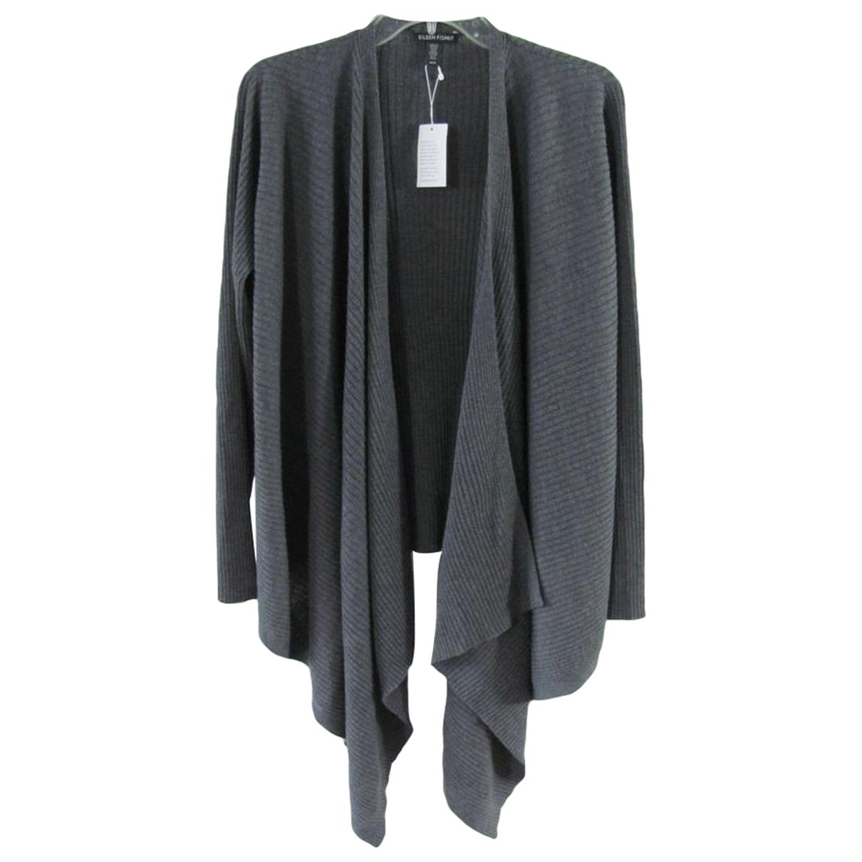 Eileen Fisher - Pull   pour femme en laine - gris