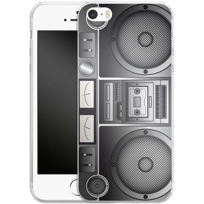 Apple iPhone 5s Silikon Handyhuelle - Beatbox von caseable Designs