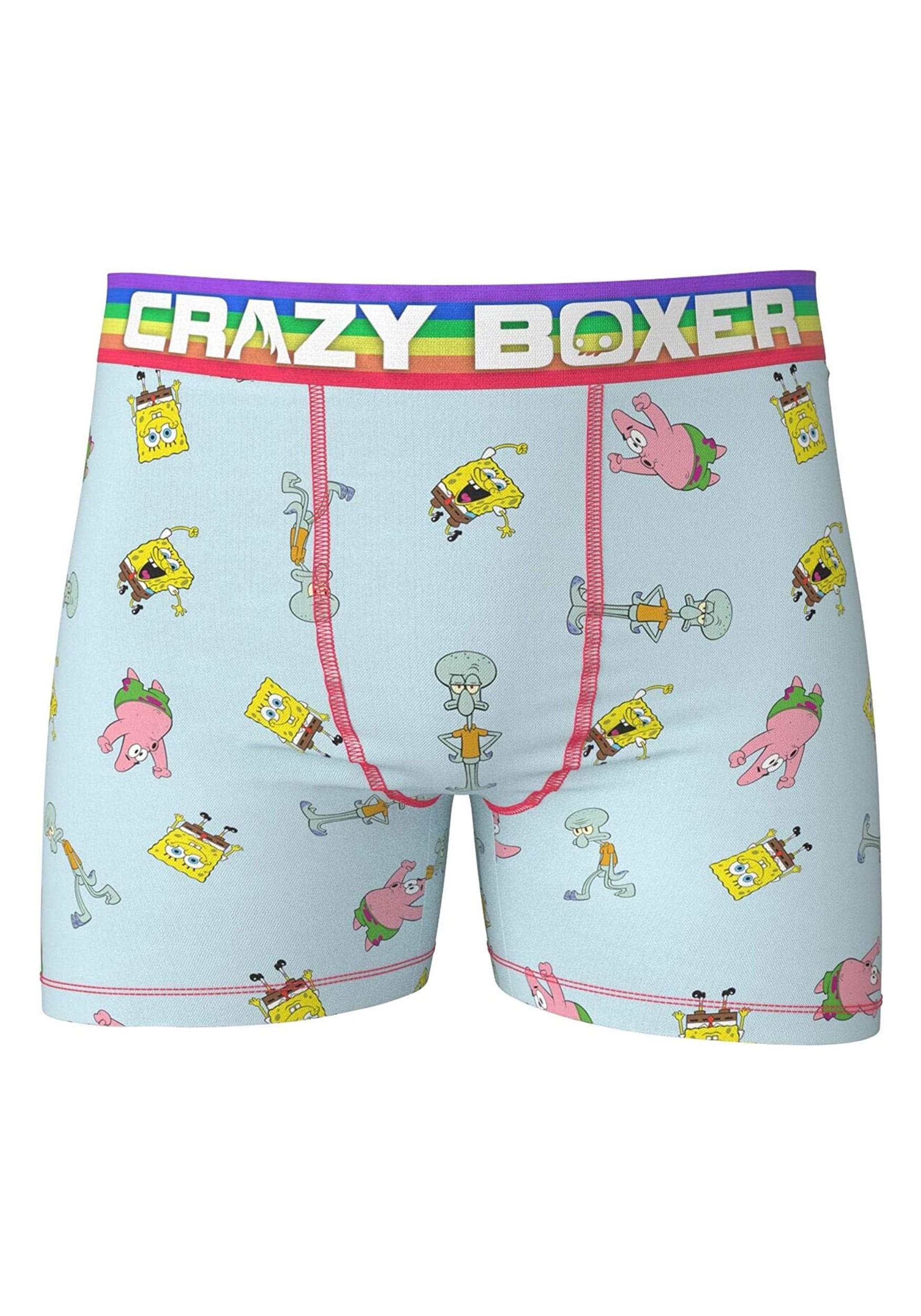 Crazy Boxer SpongeBob Crew Classic Boxer Briefs