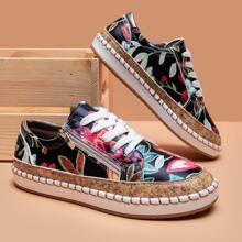 Skate Schuhe mit Reissverschluss und Band vorn