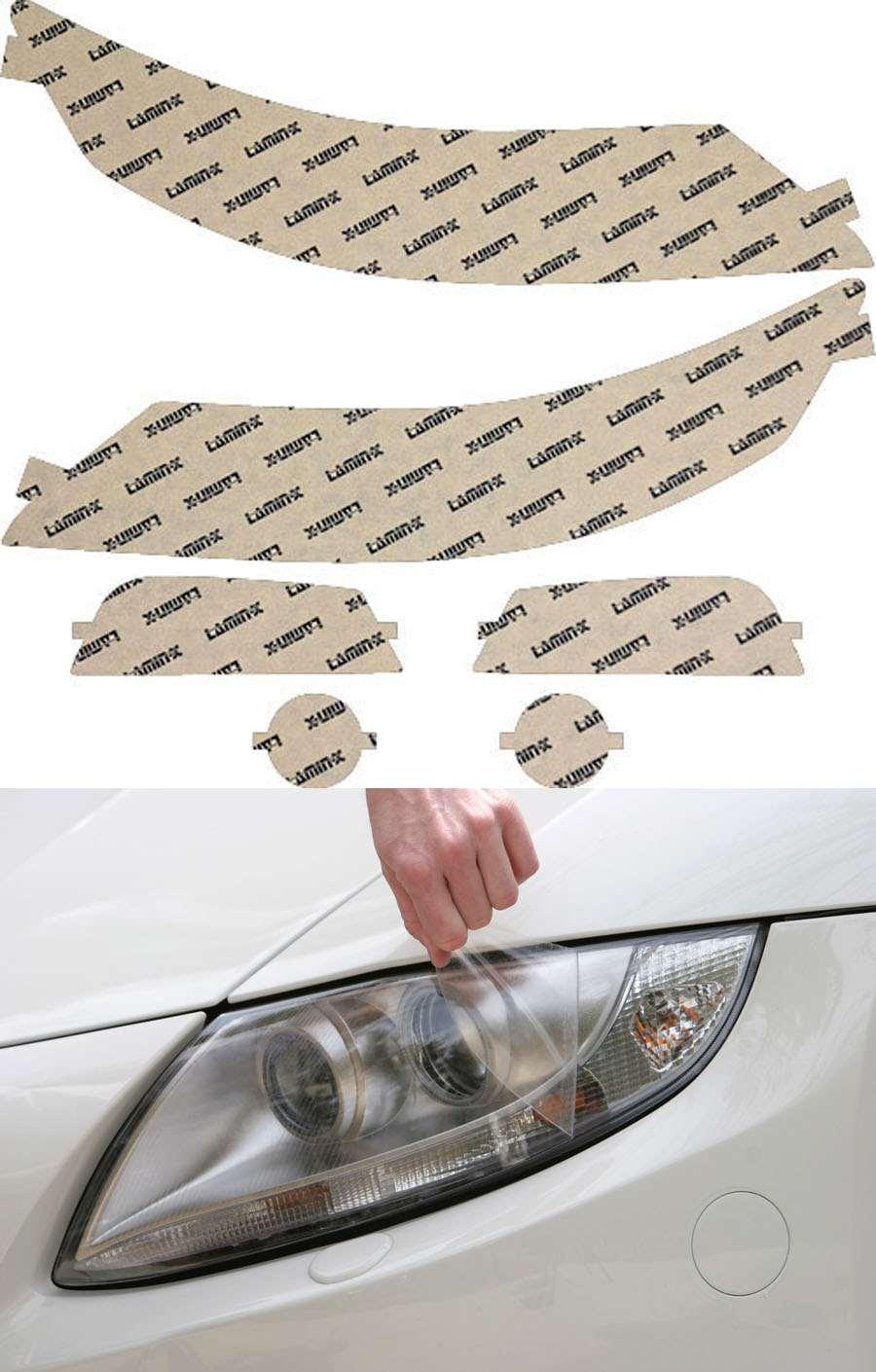 Acura TL 12-14 Clear Headlight Covers Lamin-X AC022CL