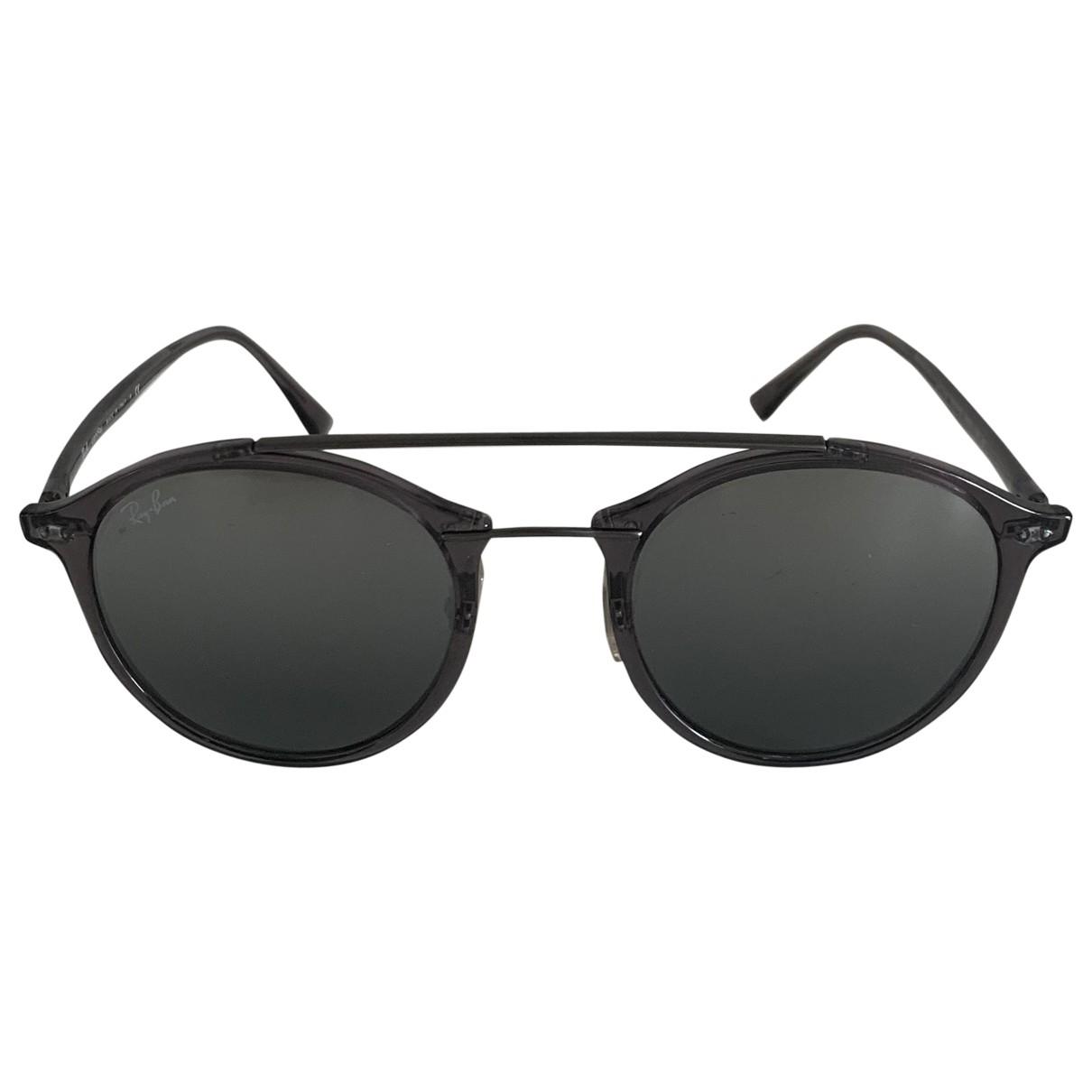 Ray-ban \N Sonnenbrillen in  Grau Kunststoff