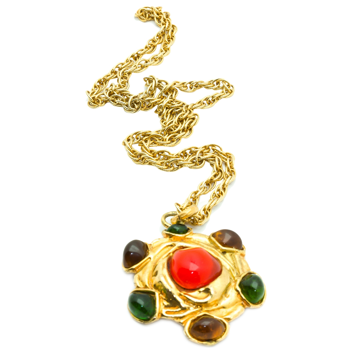 Christian Lacroix \N Gold Metal necklace for Women \N