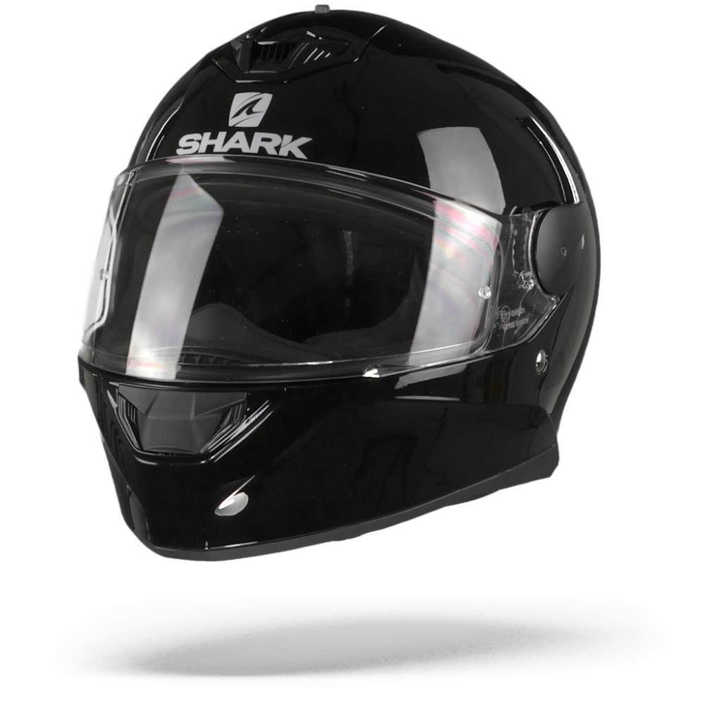 Shark D-Skwal 2 Blank Casco Integral (Full Face) Negro BLK L