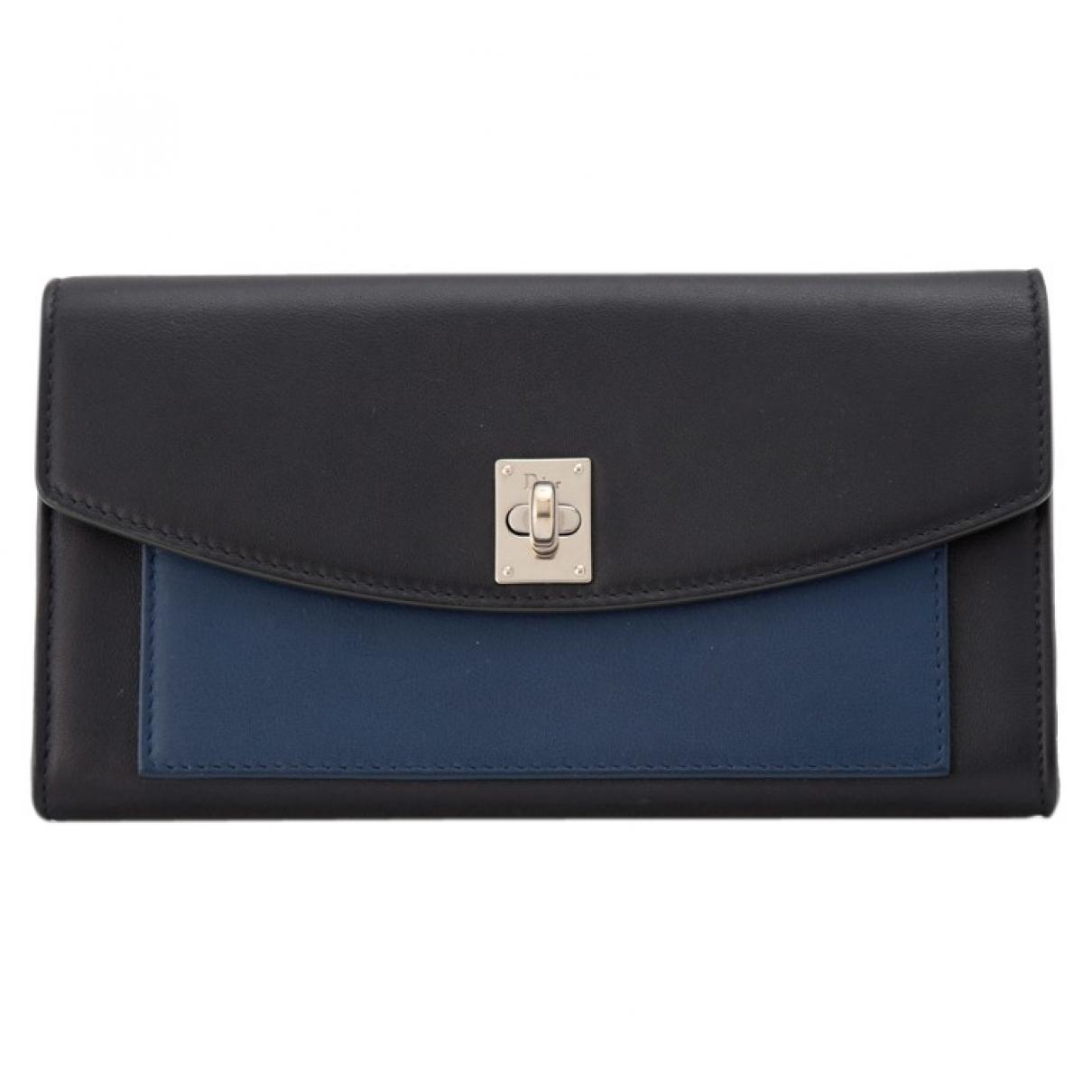 Dior \N Black Leather wallet for Women \N