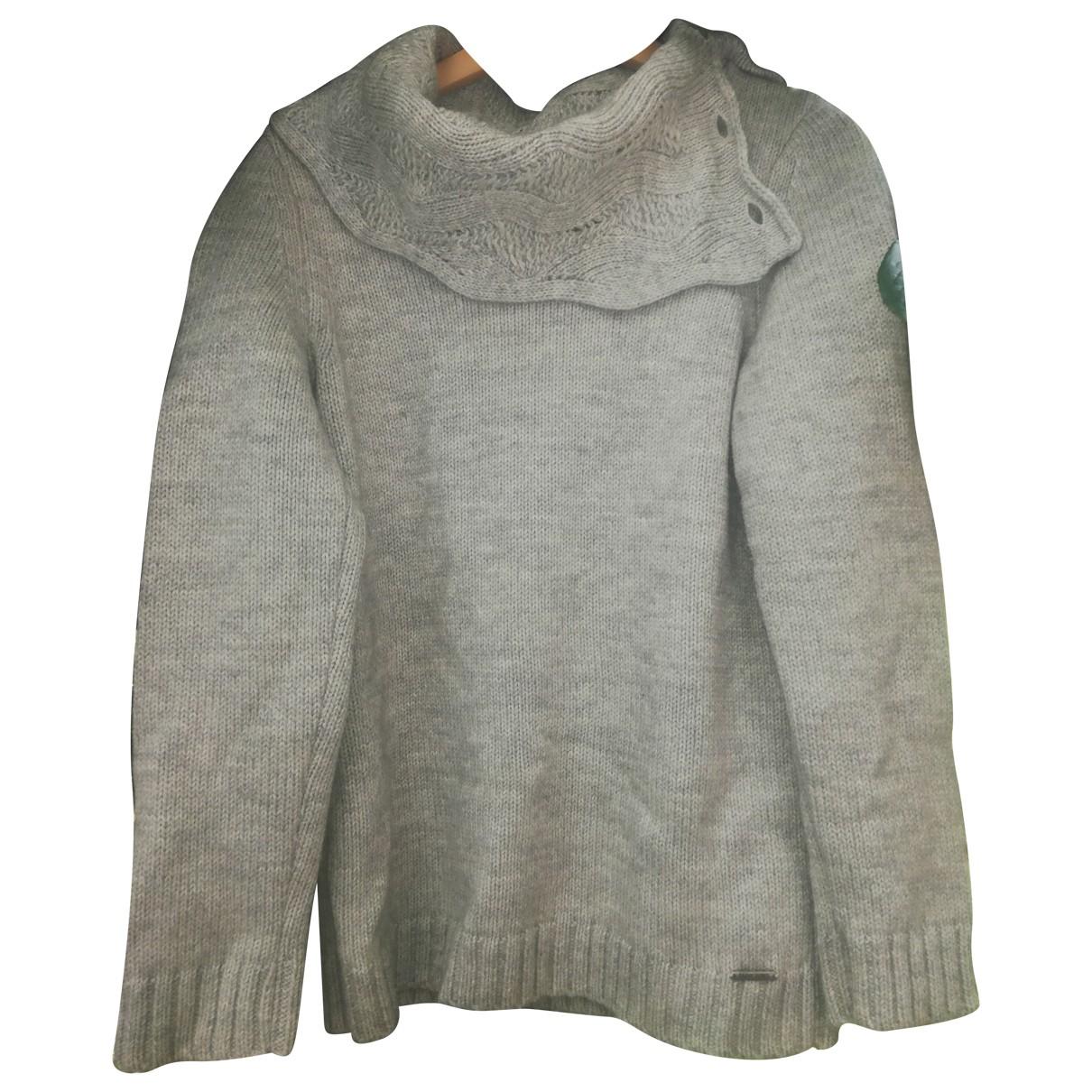 Saint James \N Pullover in  Grau Wolle