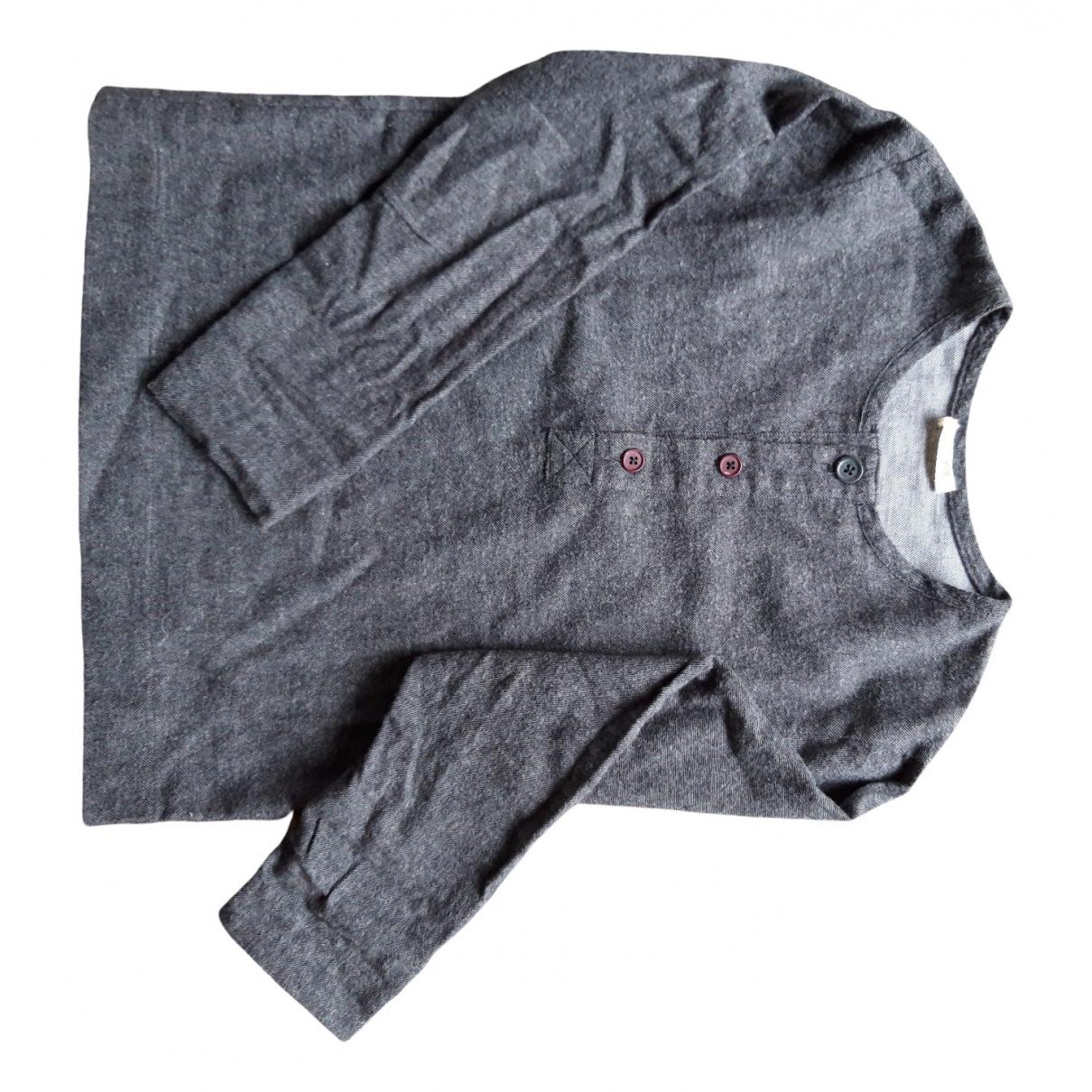 Talc - Top   pour enfant en coton - anthracite