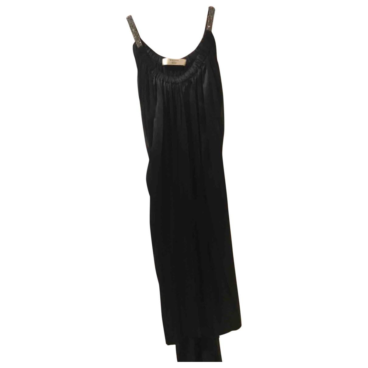 Lanvin \N Black Silk dress for Women 40 FR