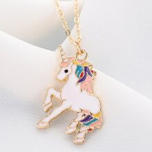 1pc Unicorn Charm Necklace