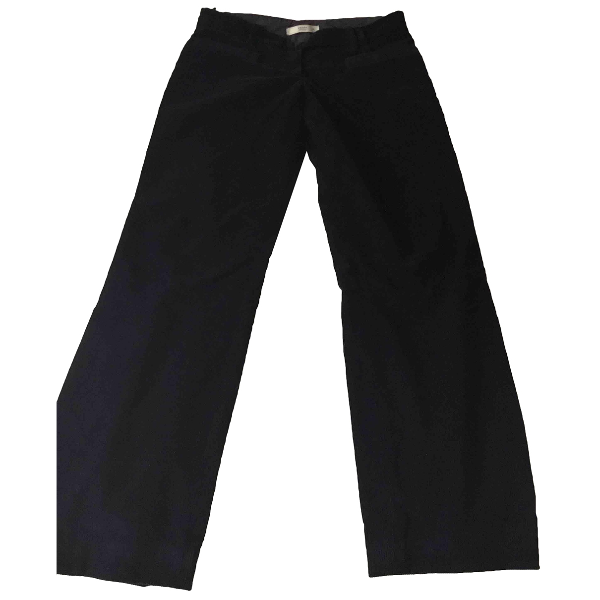Prada \N Purple Cotton Trousers for Women 38 IT