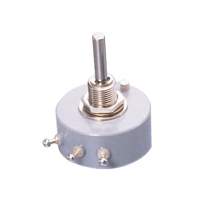 Copal Electronics 1 Gang Rotary Cermet Potentiometer with an 6 mm Dia. Shaft - 5kΩ, ±2%, 1.5W Power Rating, Linear
