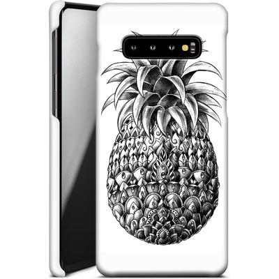 Samsung Galaxy S10 Plus Smartphone Huelle - Ornate Pineapple von BIOWORKZ