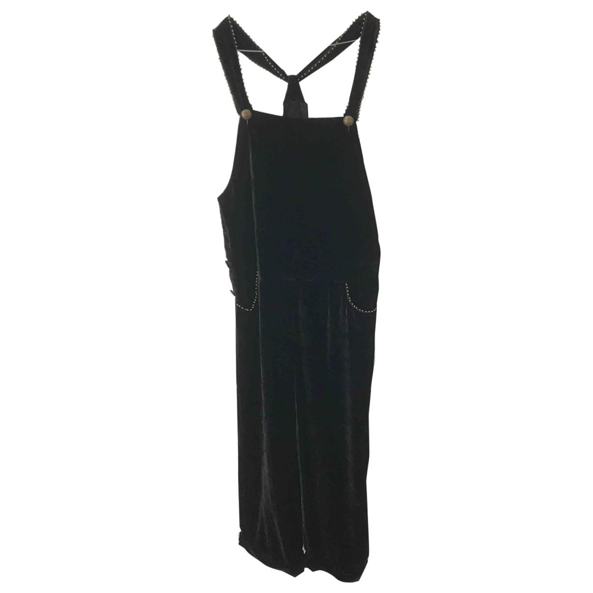 See By Chloé \N Black Velvet jumpsuit for Women 40 IT