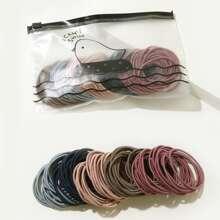 100 Stuecke Maedchen elastisches Haarband