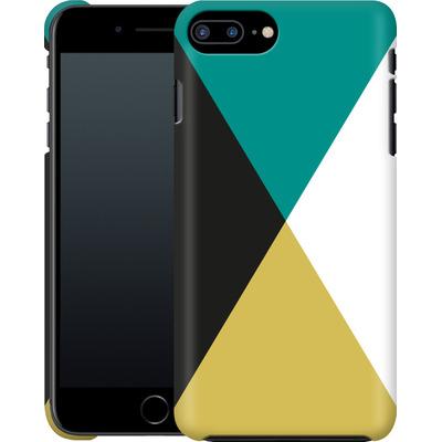 Apple iPhone 7 Plus Smartphone Huelle - Four Triangles von caseable Designs