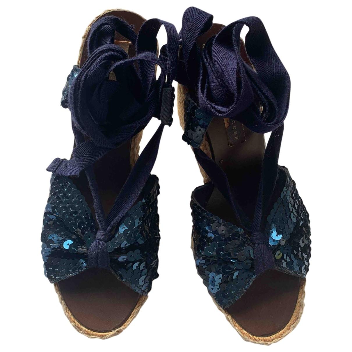 Marc Jacobs \N Blue Cloth Espadrilles for Women 39 EU