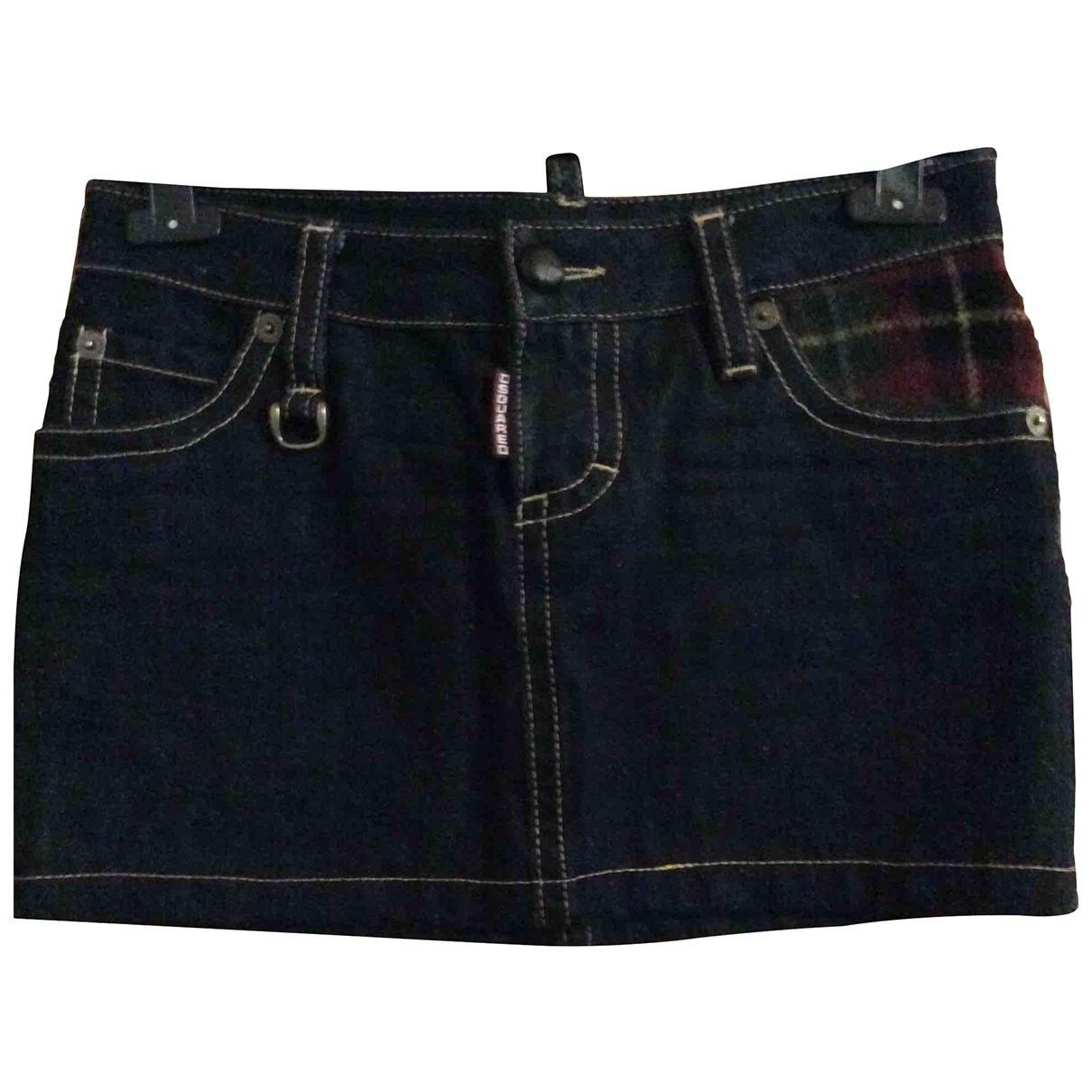 Dsquared2 \N Rocke in  Blau Denim - Jeans