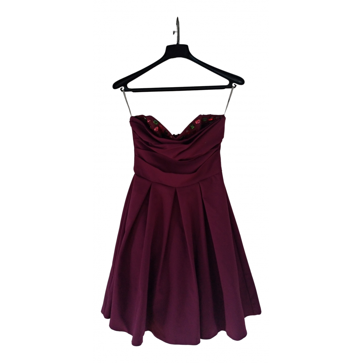 Asos \N Purple Cotton dress for Women 38 IT