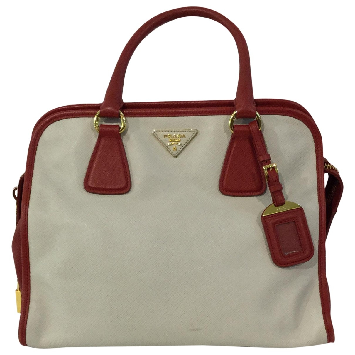 Prada \N White Leather handbag for Women \N